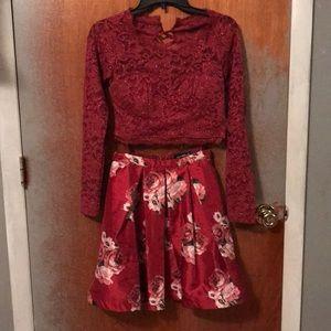 Size 3 two-piece dress